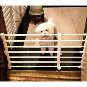 Adjustable Fence Gate For Dog Safety Isolating Indoor Barrier Closet Organizer