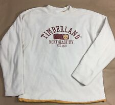 Timberland Youth Boys Long Sleeve Reversible T Shirt Thermal Crew Neck Siz Small