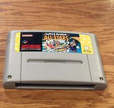 PAL EUROPEAN VERSION ~ Super Mario All-Stars ~ Super Nintendo SNES EU Console V