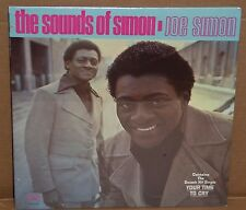 Joe Simon The Sounds Of Simon LP vinyl record SEALED soul cut out