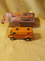"Matchbox Superfast No68 CHEVY VAN "" very good condition. Box is acceptable"