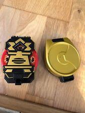 Power Rangers Super Samurai-Morpher boite avec disque & Case objet 4