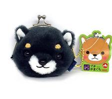 AMUSE Stuffed Animal Mameshiba San Kyodai Gamakuchi Coin Pouch (Mamejiro)23c61
