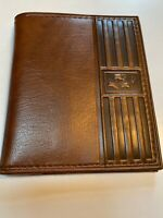 Rare Vintage Vitronic IMC Brown Leather Wallet