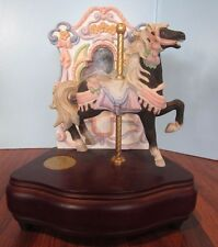 Vintage Westland Carousel Collection Carousel Horse Music Box Limited Edition Bl