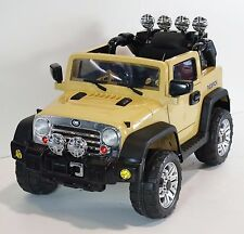 rideONEcar. JEEP STYLE JJ 235 RIDE ON CAR FOR KIDS W REMOTE CONTROL 12Volts