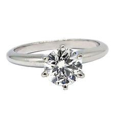 già CERTIFICATO 0.91 KT H PERFETTO Anello di fidanzamento con diamante rotondo