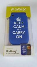 Étuis, housses et coques bleus pour téléphone mobile et assistant personnel (PDA) Blackberry