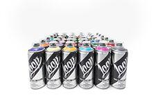 Loop Colors Sprühdosen Sparpaket - Bunt Spraydosen Farbspray 400ml Sparpack 36
