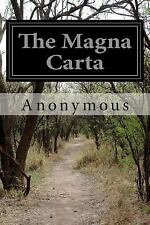 The Magna Carta by Anonymous (2014, Paperback)