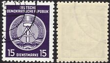 1 timbre oblitéré ALLEMAGNE DDR RDA 1954 n°21 Y&T