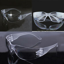 Vented Safety Goggles Glasses Eye Protection Protective Quality Transparent New