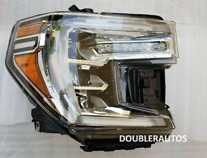 19-20 2020 GMC SIERRA DENALI AT4 HEAD LIGHT LAMP FULL LED RH PASSENGER RIGHT