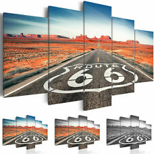ROUTE 66 LANDSCAPE Canvas Wall Art Image Photo Print c-B-0020-b-n