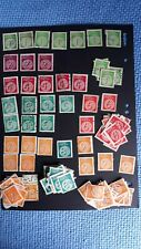 Victoria Duty stamps approx. (117) some UNUSED