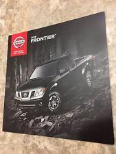 2019 NISSAN FRONTIER 20-page Original Sales Brochure