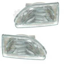 Halogen Headlight Set for Toyota Starlet EP80 03/90 -> 03/96 H4 without Motor