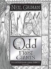 Odd y los Gigantes las heladas por Neil Gaiman (tapa Dura, 2016)