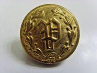 1800s antique Police service uniform coat metal button Superior quality 49528