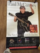 Paul Mccartney 1989 Flowers In The Dirt Original Promo Poster