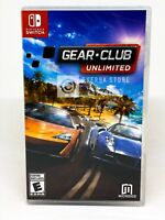 Gear.Club Unlimited - Nintendo Switch - Brand New | Factory Sealed