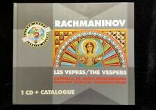 Rachmaninov: Les Vêpres - The Vespers / Chernushenko (CD, Oct-1992, Russian Sea…