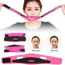 Women Reduce Double Chin Face Slimming Bandage Facial Massager FaceLift Belt'