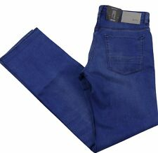 Hugo Boss Mens Jeans Maine Regular Fit Cotton Blend BLUE BNWT W34 x L34