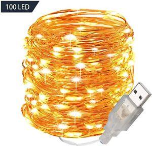 GardenDecor 100 Led 33 ft. Starry Led String Light