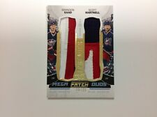 2015-16 ud premier mega patch duos B.Saad/S.Hartnell 20/25