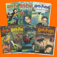 im Set: HARRY POTTER Band 1-7 | Joanne K. Rowling | 1+2+3+4+5+6+7 (Buch)
