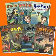 Set: HARRY POTTER Band 1-7 | Joanne K. Rowling | 1+2+3+4+5+6+7 (Taschen Buch)