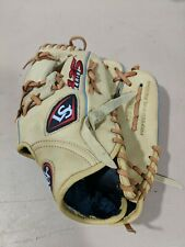 "New listing Louisville Slugger 125 Series 11.25"" RHT Baseball Softball Glove Clean"