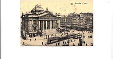 BF16613 bruxelles la bourse tramway belgium front/back image