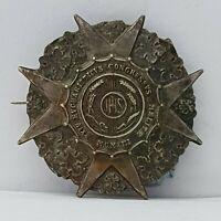 24th International Eucharistic Congress 1913 Malta Catholic badge 29mm