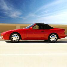 Fits: 1989-1995 Porsche 944/968 - Convertible Top, 2pc, Black Haartz German