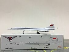 Aviation 400 1:400 CAAC Civil Aviation Administration of China Concorde B-1972