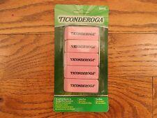 Dixon Ticonderoga 38945 Eraser 5 Pk