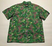 Ralph Lauren mens floral print shirt XL