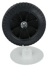 "7"" 180mm Wheel With Tyre & Bearing Fits Many HONDA & HAYTER Lawnmowers See List"