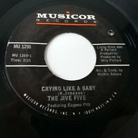 "The Jive Five - Crying Like A Baby - Vinyl 7"" Single Northern Soul"