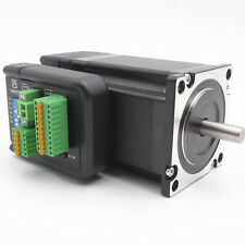 Hybrid NEMA23 Integrate Closed Loop Stepper Motor Drive 2NM Position Encoder 36V