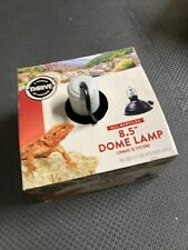 "New listing 8.5"" Dome Lamp All Reptiles Ceramic socket up to 150W Watt bulbs & heat emitters"