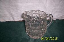 Jeanette glass company Windsor Diamond milk pitcher