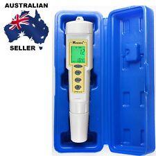 PH Conductivity Temperature Meter Tester Electrode Laboratory Aquarium Pool More