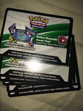 6 x Pokemon TCG ONLINE CODE CARD (From Tins, Chests and Boxes, ONLY)