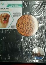 "NEW Pet Trends Pet Placemat Non-Slip 14"" x 18""  New"