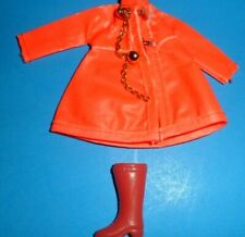 Topper Dawn doll clothes outfit 1970's #720 City Slicker Raincoat 1 Boot