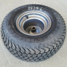 18x8.50-8 Lawn Mower TIRE RIM WHEEL ASSEMBLY Super Turf Drive Axle 1 inch Shaft