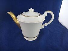 Syracuse China KENT Teapot ~MINT~Heavy Gold Trim~